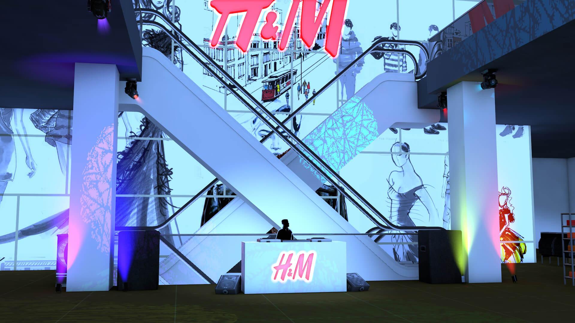 fashion expo event DJ shop and dance