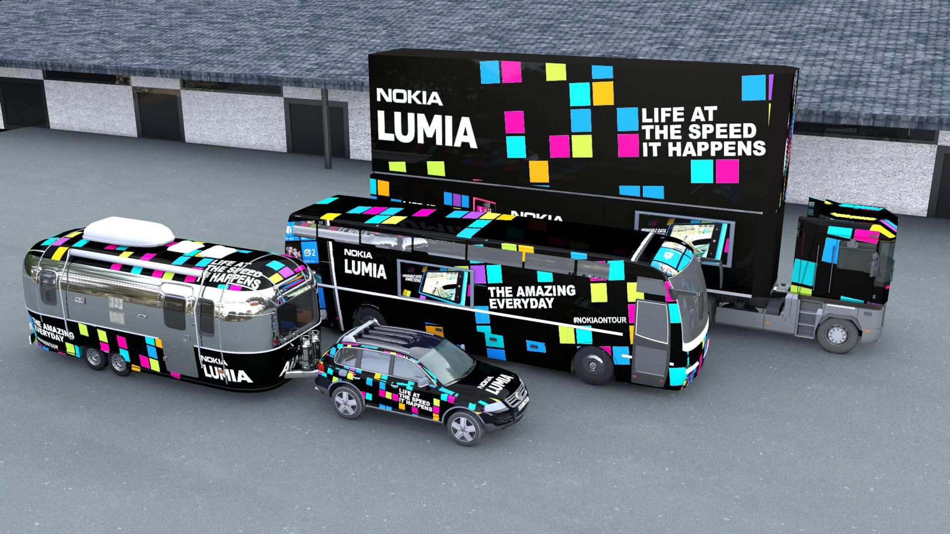Nokia Lumia Vehicle Livery