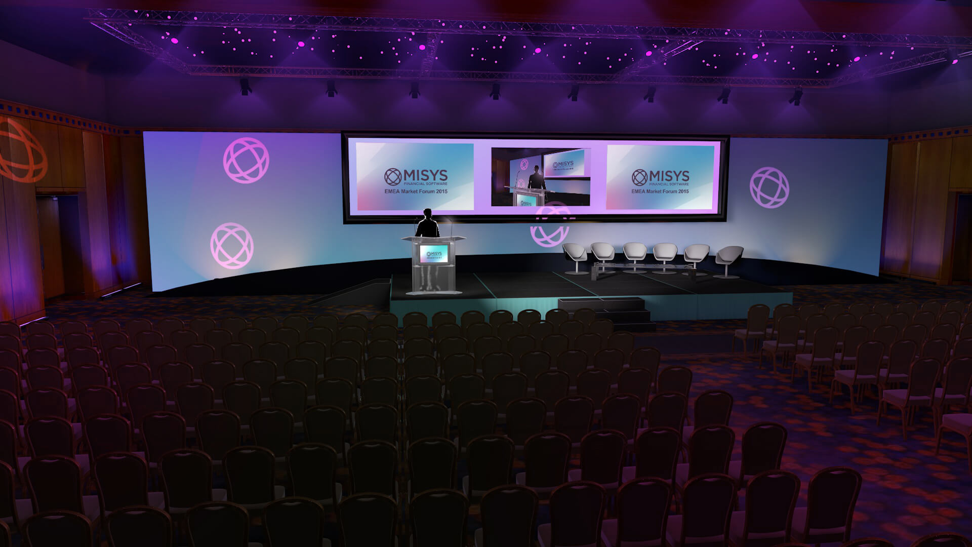Misys LED Presentation Design
