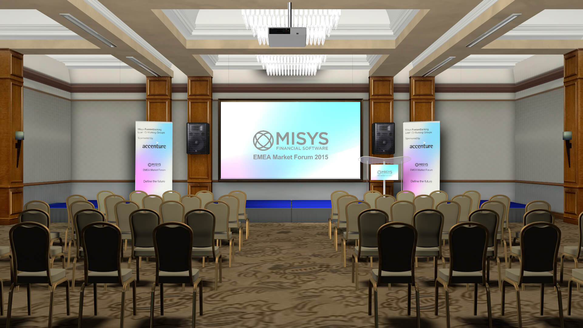 Misys Proposal Set Design Event Theme