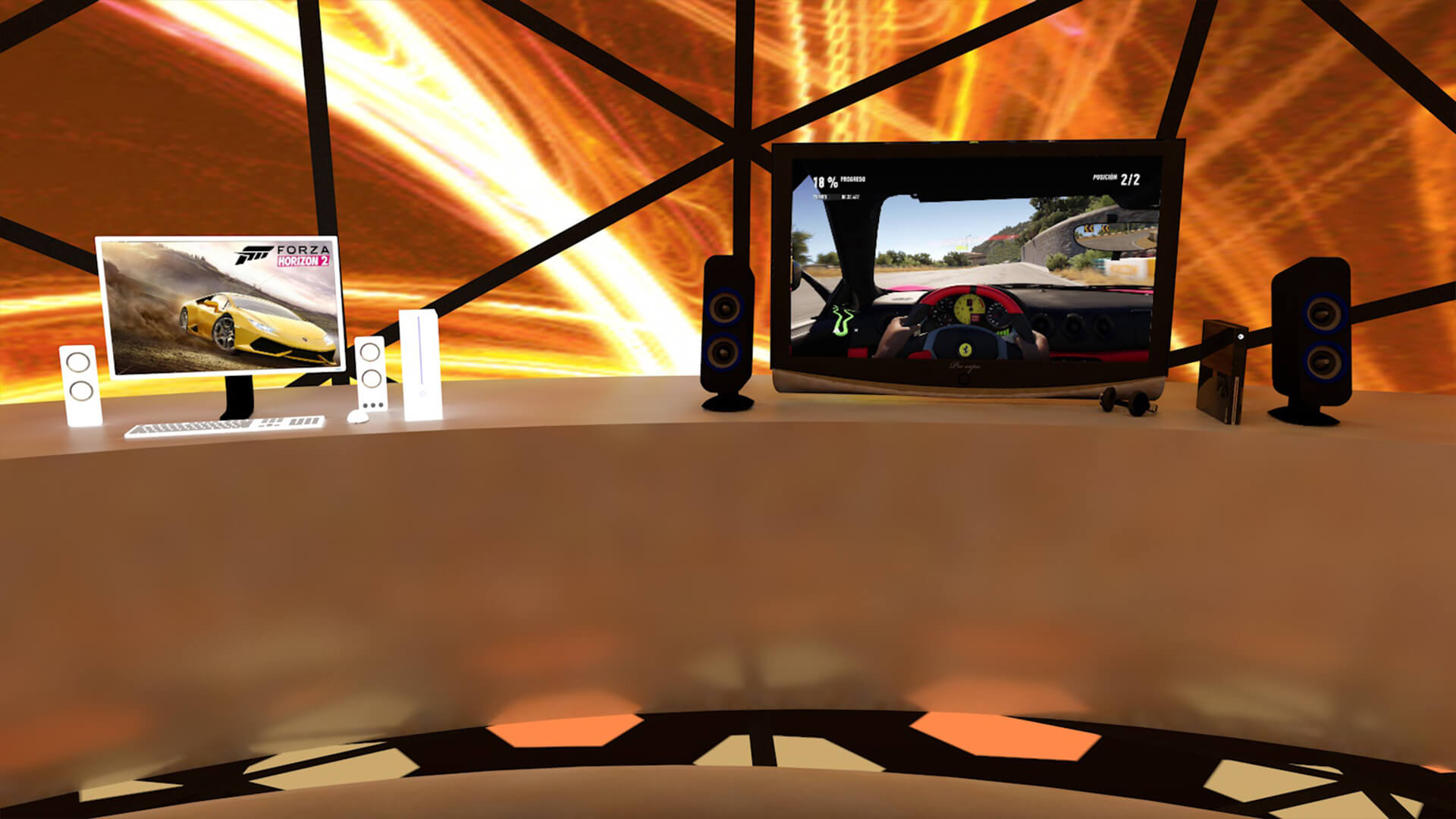 Microsoft Software Release App 3D concept