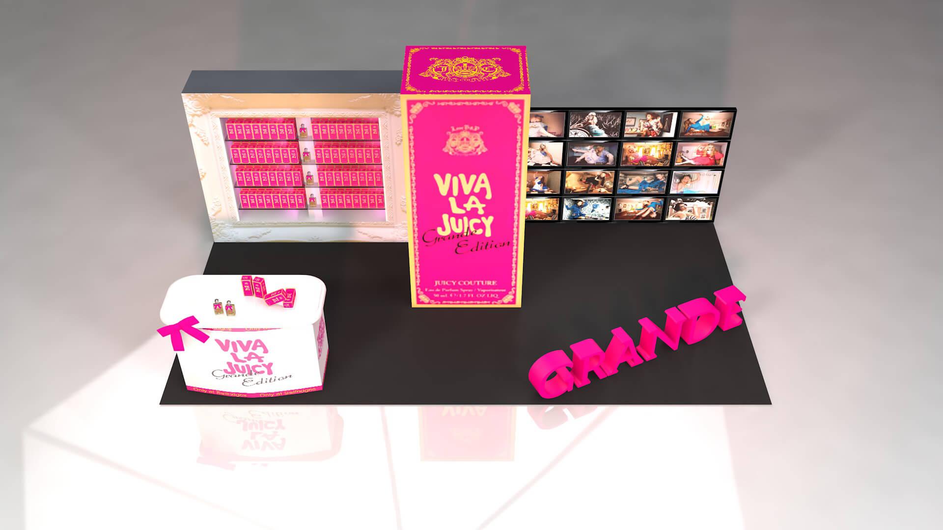 Viva La juicy Stand Design Experiential Design