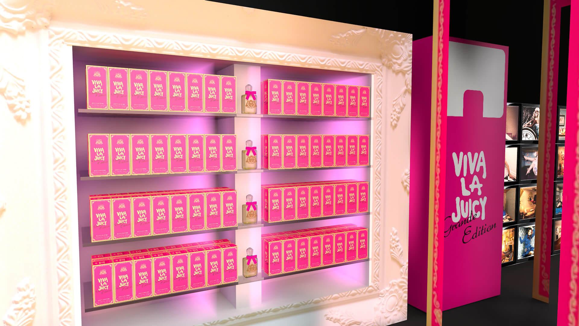 Perfume Product Launch Design Viva La Juicy