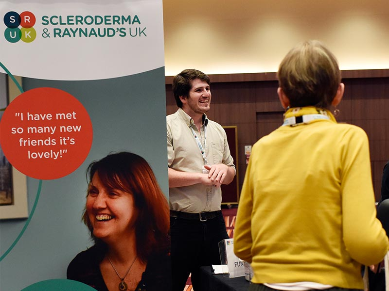 Charity Conference Design Scleroderma Raynauds