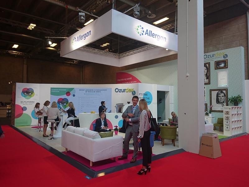 Exhibition Stand Design Allergan Pharmaceutical