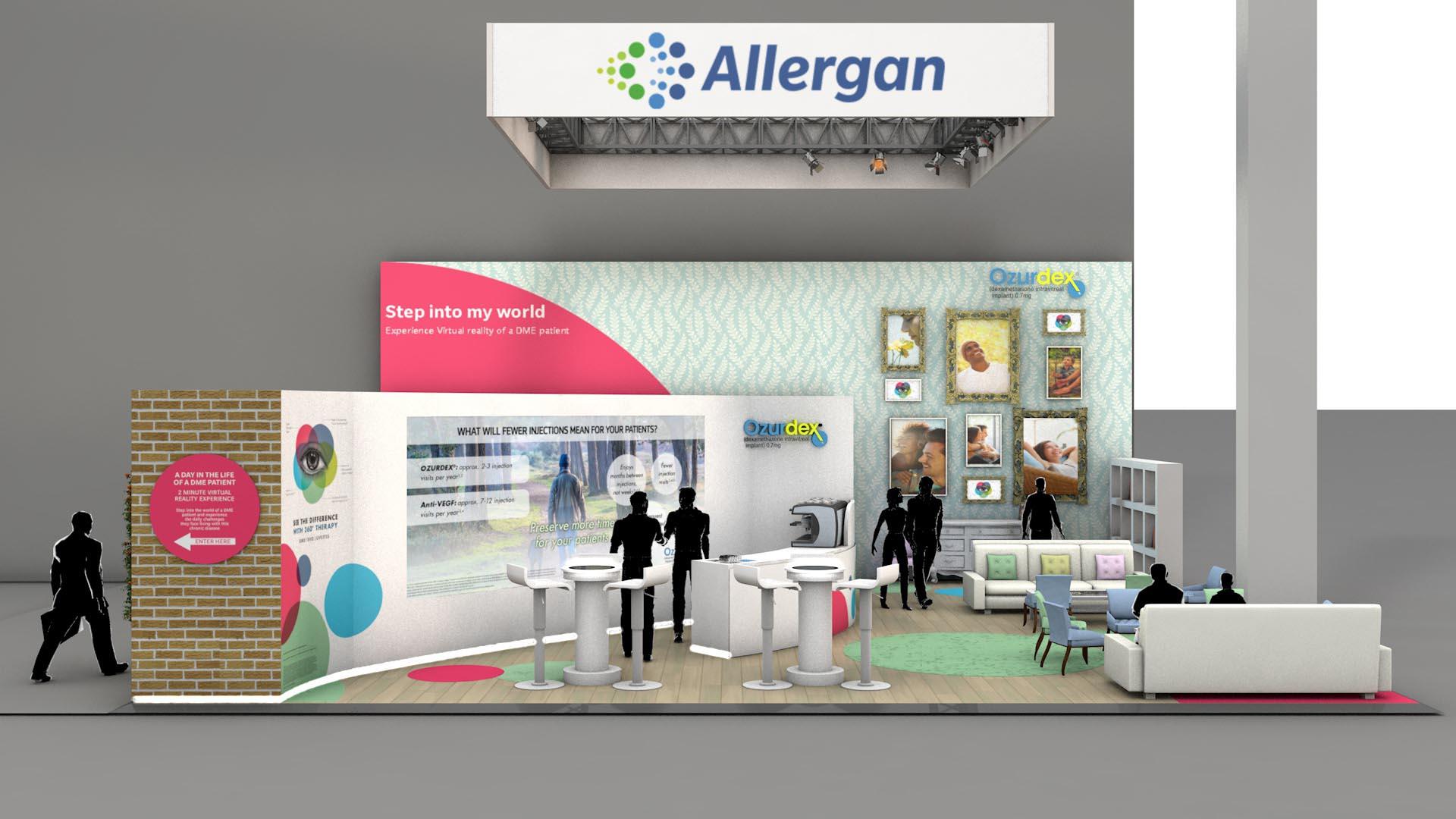 Exhibition Stand Design Allergan Medical Pharma
