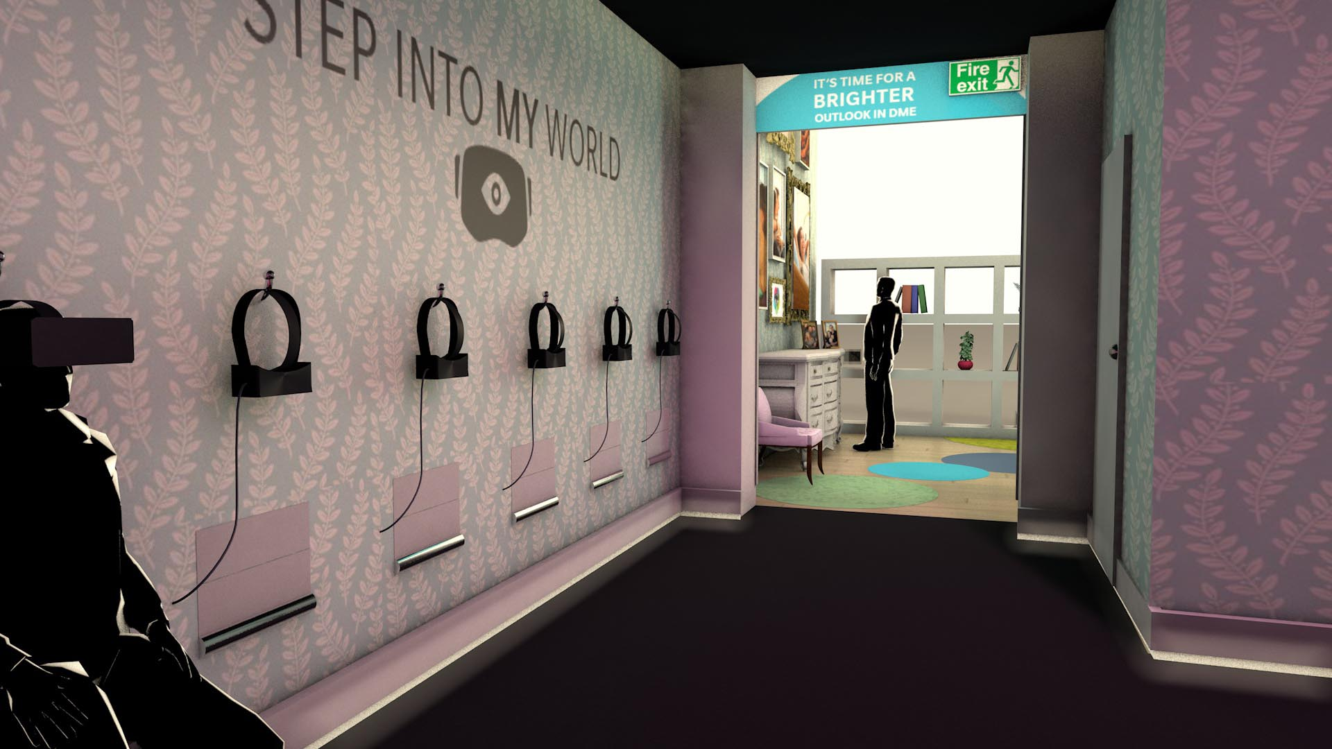 Exhibition Stand Design alternative reality sound experience