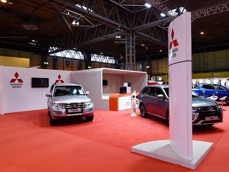 Car Expo Stand Exhibition Design Mitsubishi