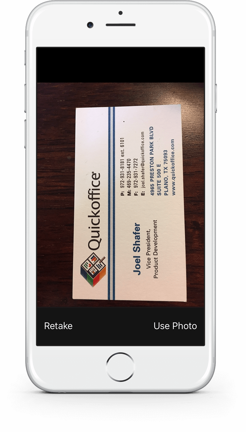 Notate cards convert business cards into outlook contacts reheart Image collections