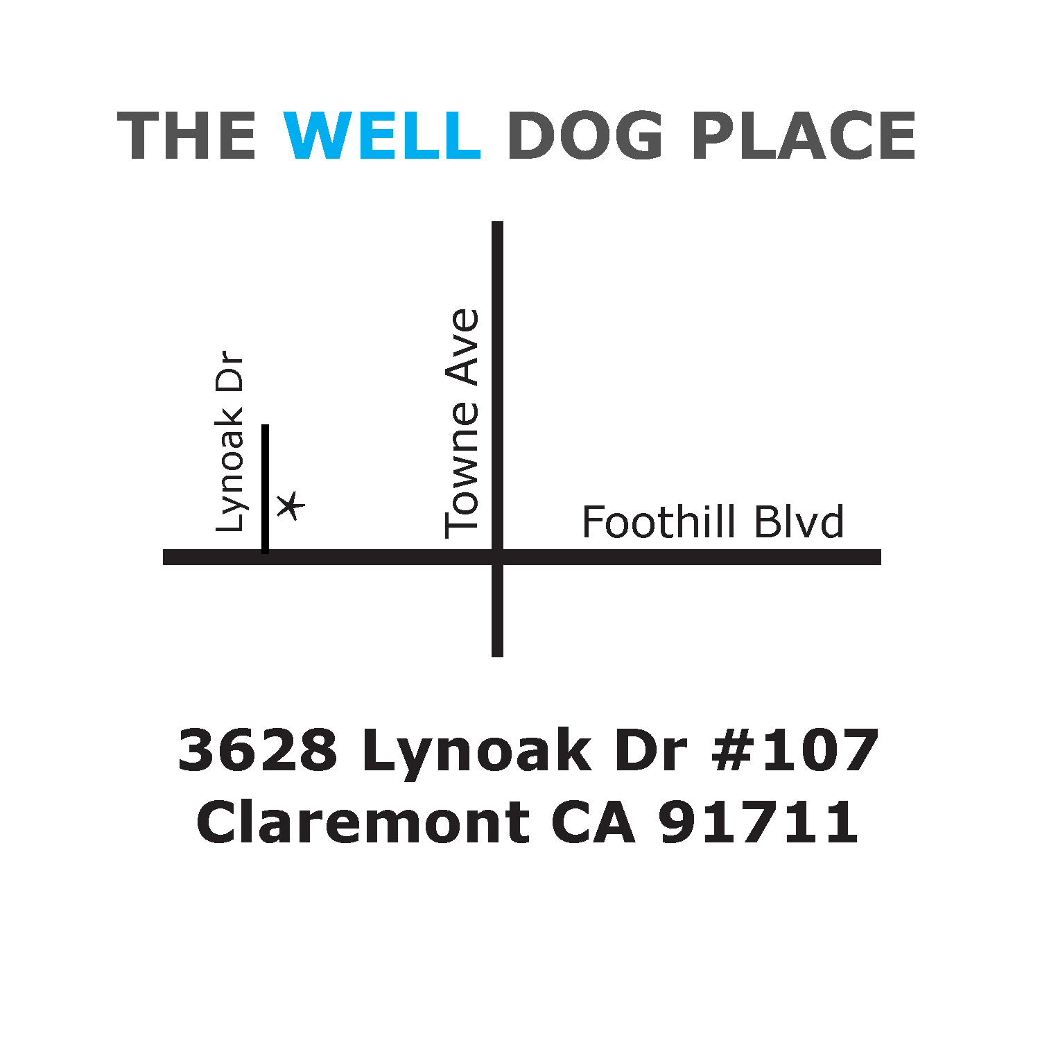 Dr. Ken Tudor's Well Dog Place - Location - Southern California