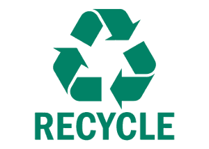 Bardage recyclables