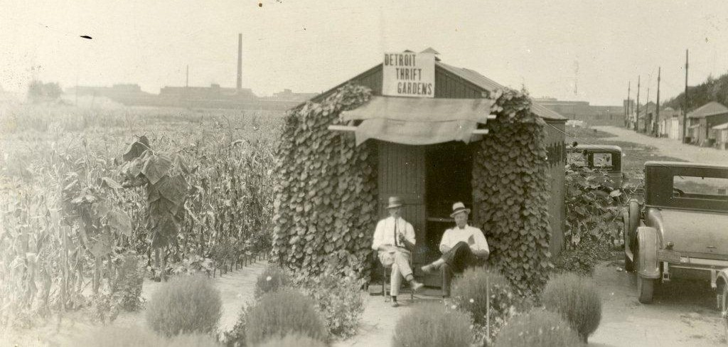 Mayor Hazen Pingree introduced urban farming in Detroit as early as 1893