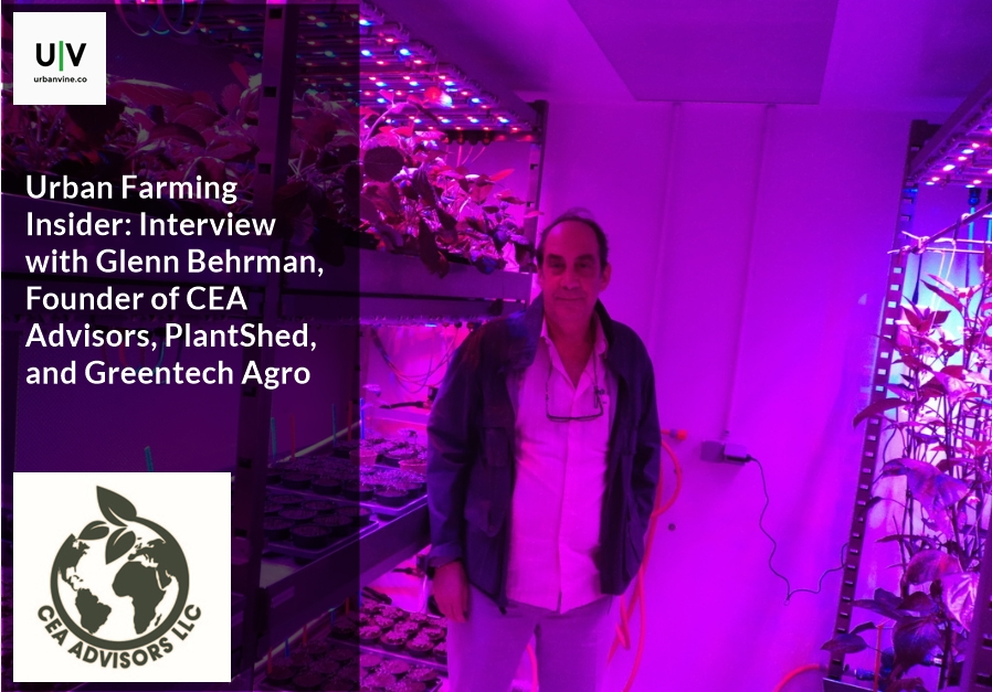 Urban Farming Insider: Glenn Behrman, Founder, CEA Advisors, PlantShed, and Greentech Agro