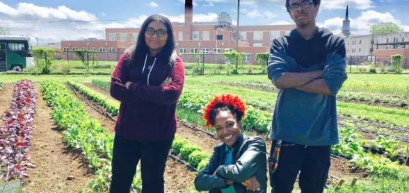 Woodlawn High School Urban Farm