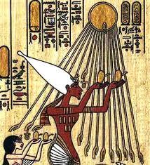 ancient portrayals of sun