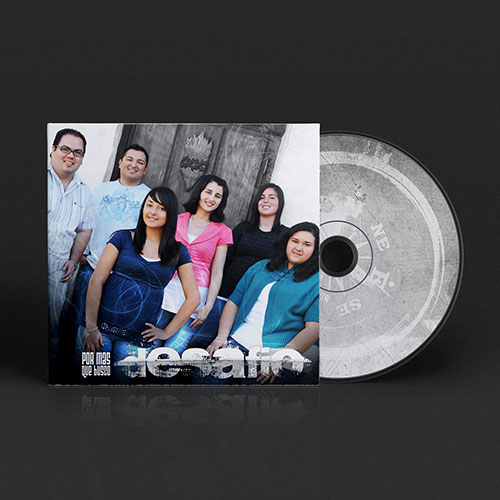Catholic Christian Artist CD Design Por Mas Que Busco | Desafio Band