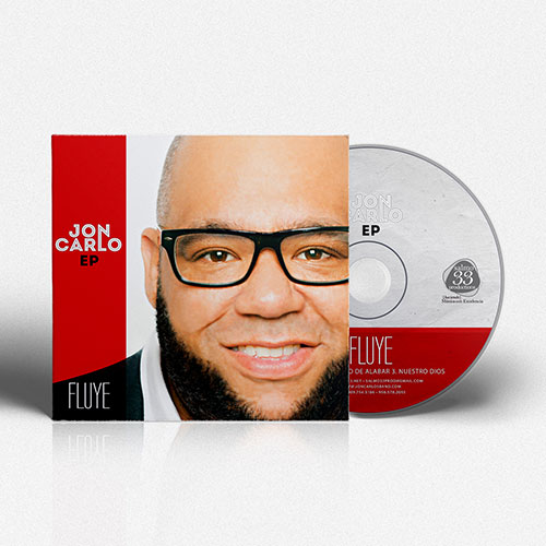 Catholic Christian Artist CD Design EP Fluye | Jon Carlo Band