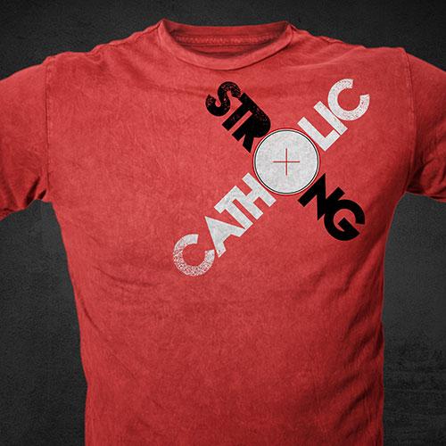 Catholic Christian T-Shirt Design | Marketing for Catholics