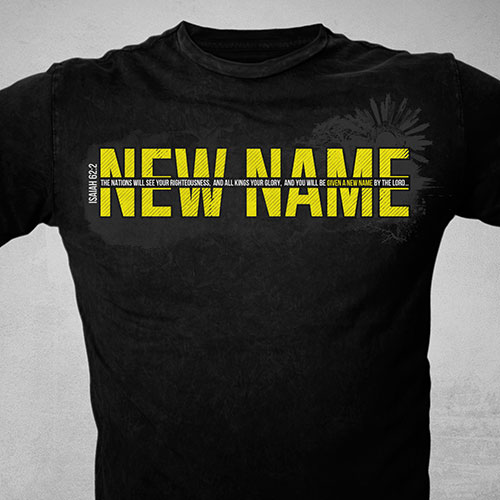 Ministry T-Shirt Design | New Name Ministry