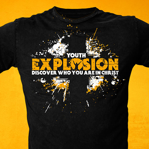 are you interested in t shirt design for your church youth ministry
