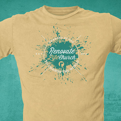 Christian Church T-Shirt Design | Renovate Life Church
