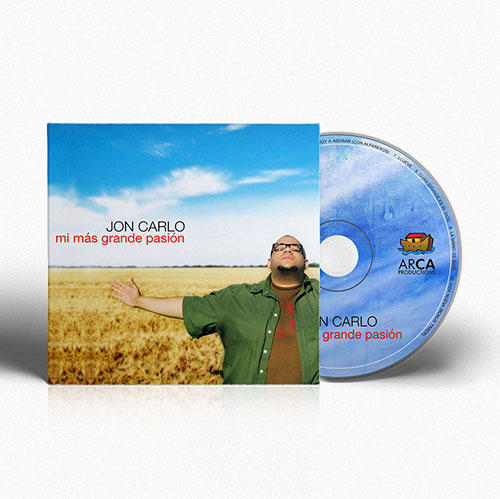 Diseño de CD Mi Mas Grande Pasion | Jon Carlo Band