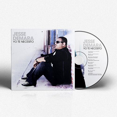 Diseño de CD Yo te Necesito | Jesse Demara