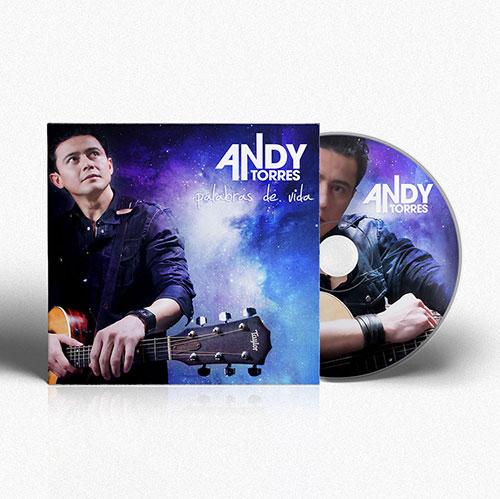Diseño de CD Palabras de Vida | Andy Torres