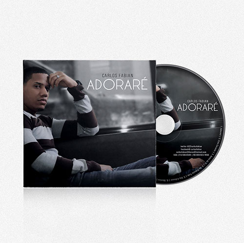 Diseño de CD Adorare | Carlos Fabian