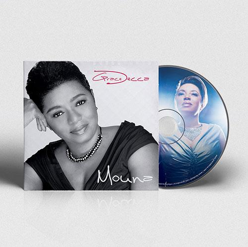 CD Cover Design Mouna | Grace Decca