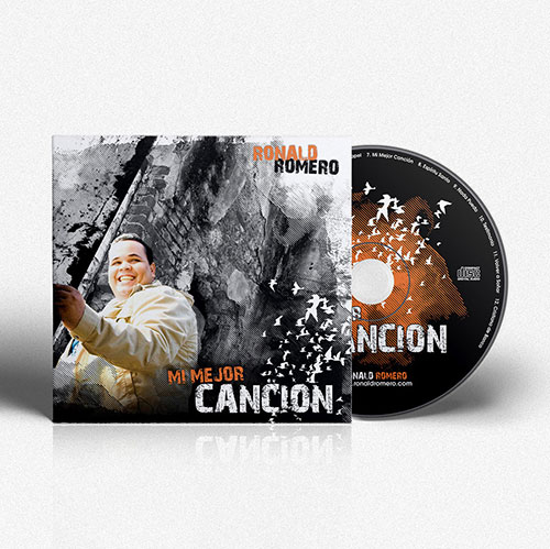 Diseño de CD Mi Mejor Cancion | Ronald Romero