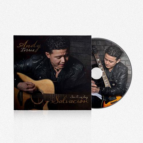 Diseño de CD Sin ti no hay Salvacion | Andy Torres