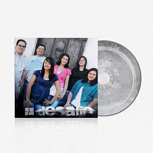Diseño de CD Por Mas Que Busco | Desafio Band