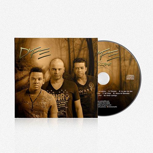 Diseño de CD Tocame | D'FE
