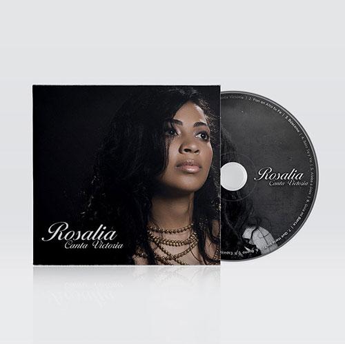 Diseño de CD Canta Victoria | Rosalia