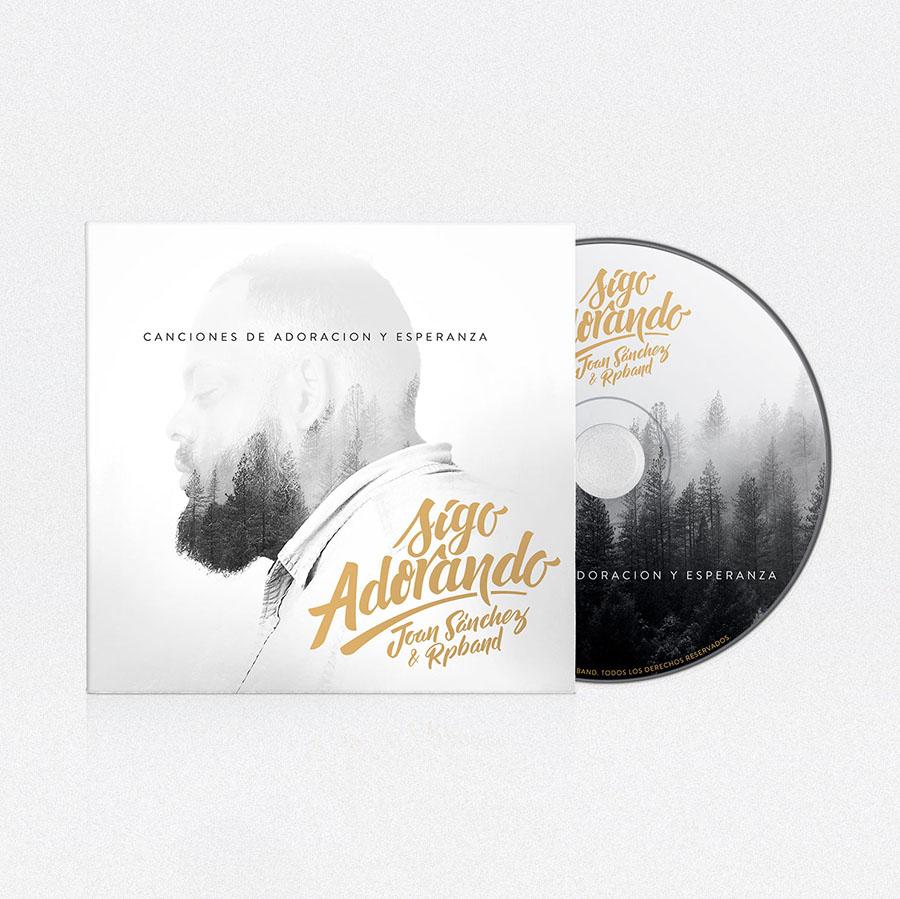 Diseño de CD Sigo Adorando | Joan Sanchez RP Band