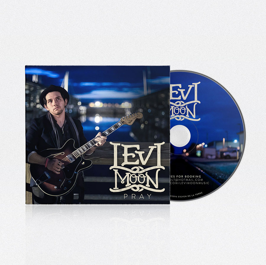 Diseño de CD Pray | Levi Moon