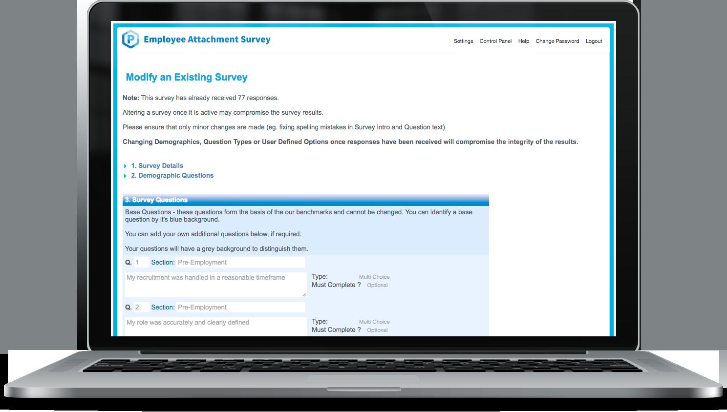 Employee Attachment Survey