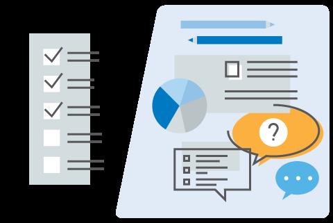Standard or customised surveys