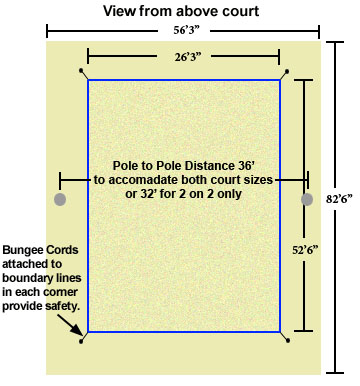 Backyard Volleyball Court Dimensions beach volleyball sand for sale