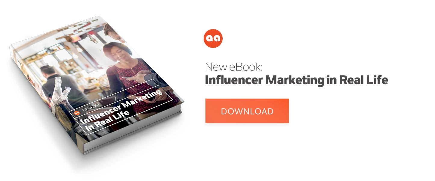 Influencer Marketing in Real Life eBook