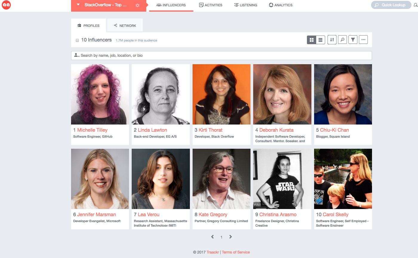 10 influential female developers to know and love on stack overflow