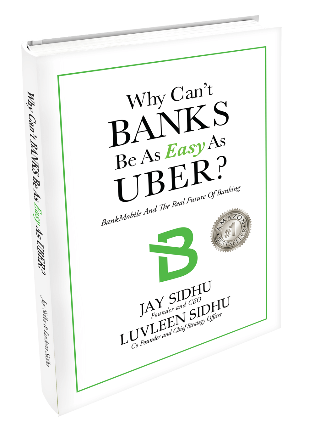 Why Can't Banks Be As Easy As Uber? Book Cover