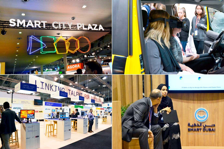 Städerna spelade huvudrollen på Smart city-mässan i Barcelona. På plats var bland annat städerna Barcelona, Dubai och New York.