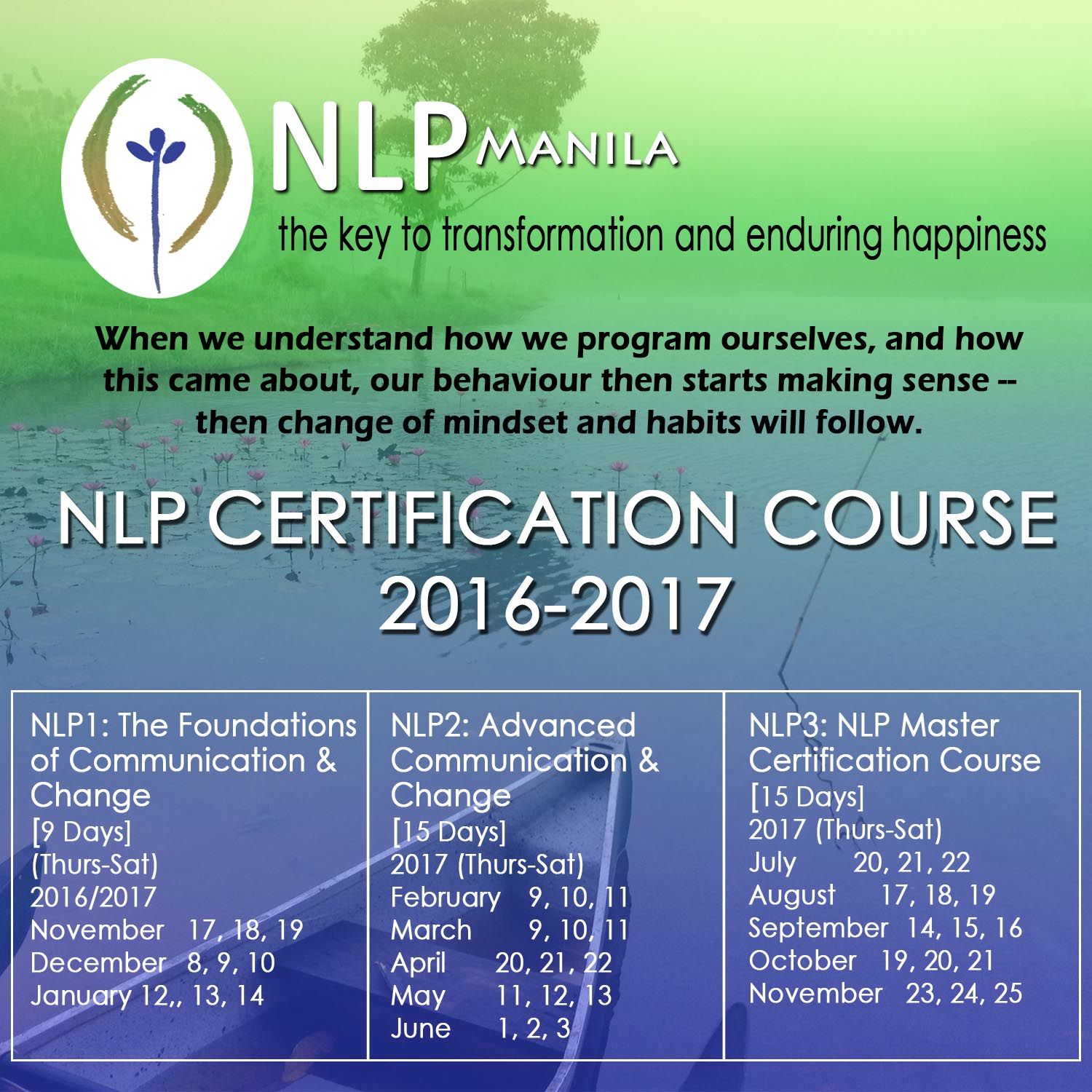 Healing pain and suffering nlp manila certification courses 2016 2017 xflitez Images