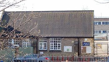 St Matthews Primary School Cambridge, Exterior