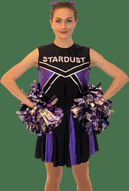 Stardust Cheerleader party entertainer