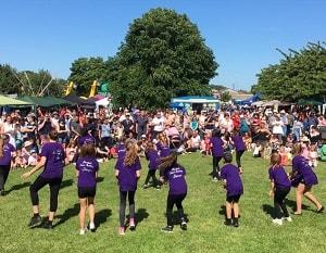 Pop Steps Performing at Arbury Carnival
