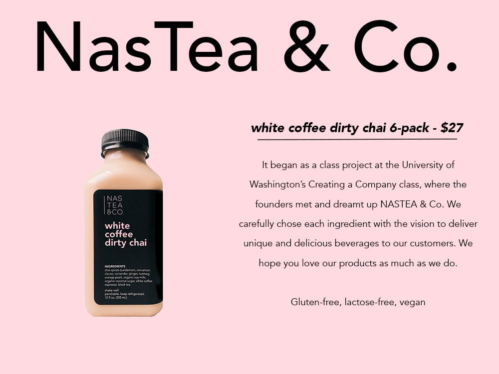 PNW gift guide NasTea chai