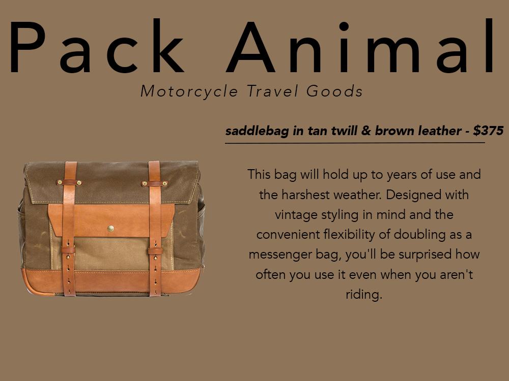 PNW gift guide Pack Animal saddlebag